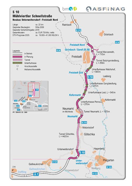 A14 Verlängerung Streckenführung